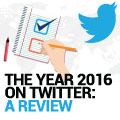 The Year 2016 On Twitter: A Review