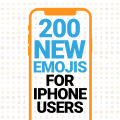200 new emojis for iPhone users