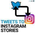 Tweets to Instagram Stories