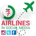 How The World's Top 7 Airlines Use Social Media