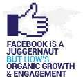 Facebook Is A Juggernaut But How's Organic Growth And Engagement?