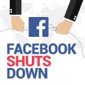 Facebook Shuts Down