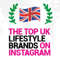 The Top UK Lifestyle Brands On Instagram