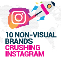 10 Non-Visual Brands That Shouldn't Be Crushing Instagram (But Are)