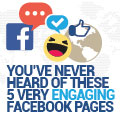 You've Never Heard Of These 5 Very Engaging Facebook Pages