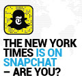 The New York Times is On Snapchat – Are You?