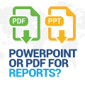 Should You Use Powerpoint Or PDF For Your Social Media Reports?