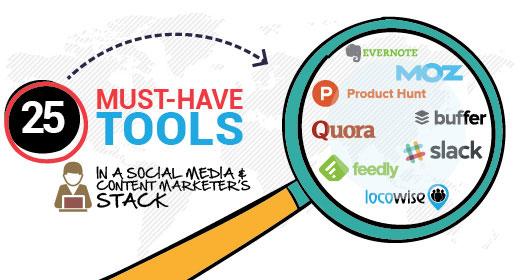 Social Media Tools - Magazine cover