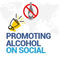 Promoting Alcohol On Social Stirs Conversation