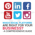 Which Social Platforms Are Right For Your Business? – A Comprehensive Guide