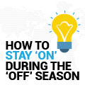 How To Stay 'On' During The 'Off' Season On Social Media