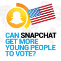 Can Snapchat get more young people to vote?