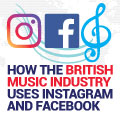 How The British Music Industry Uses Instagram And Facebook