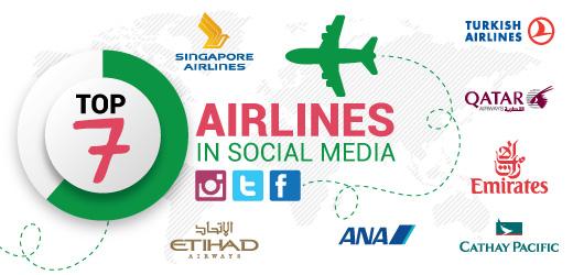 Airlines in social media