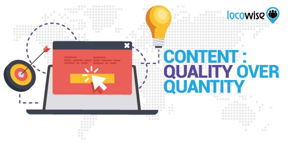 Content: Quality Over Quantity