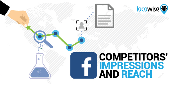 Facebook competitor reach and impressions