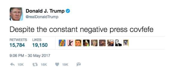covfefe tweet