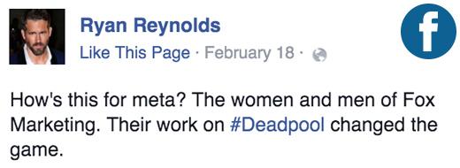 Deadpool Content