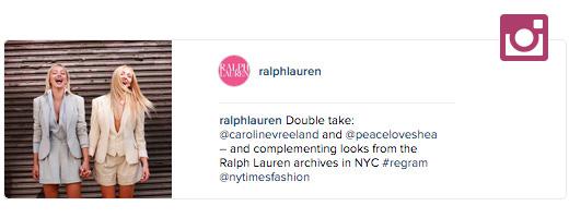 ralph lauren instagram