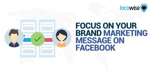 Facebook Brand Message
