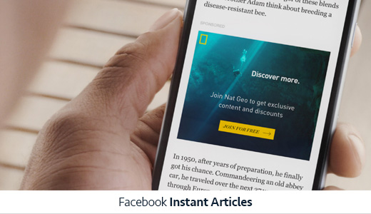 fb instant articles imagery