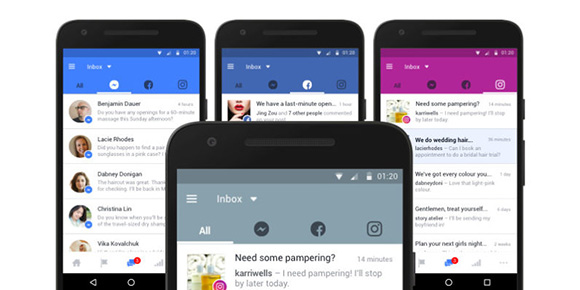 facebook unified messenger