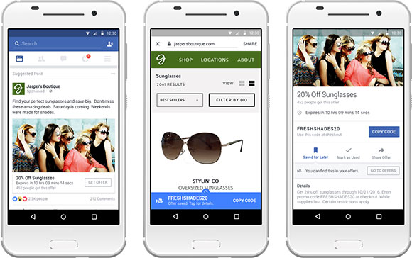 Facebook Offers and Features