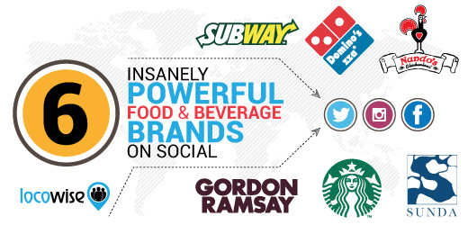 Food brands on Social