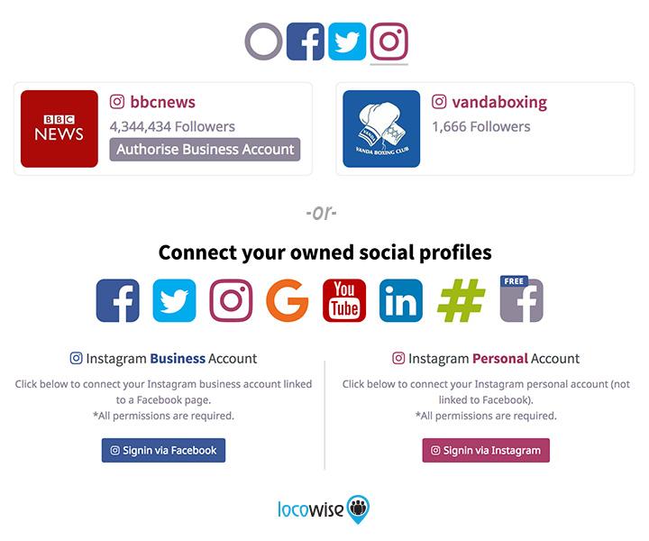 Instagram Authorisation