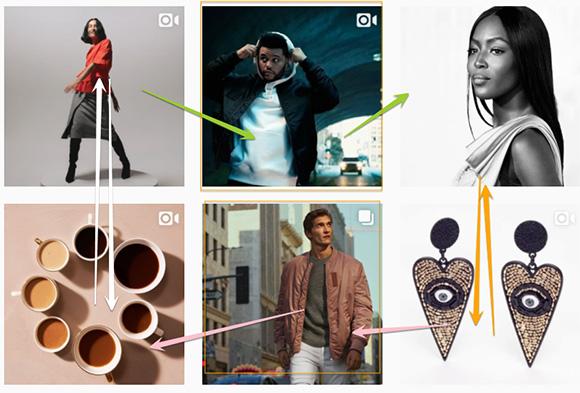 Instagram H&M Visual