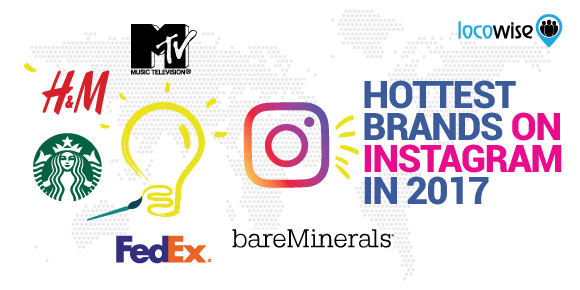 Hottest Brands On Instagram In 2017