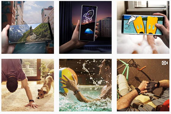 Samsung Mobile Instagram