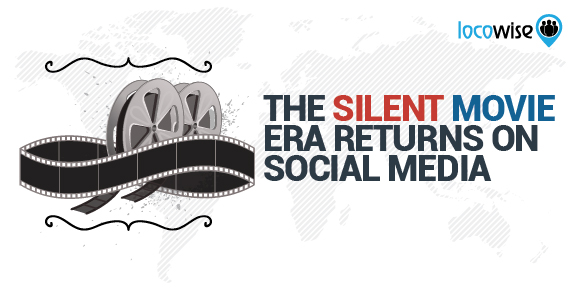 The Silent Movie Era Returns On Social Media