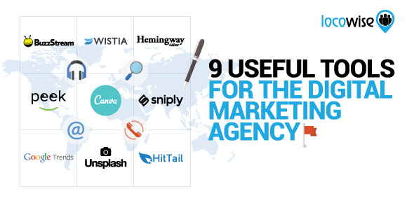 9 Useful Tools For The Digital Marketing Agency