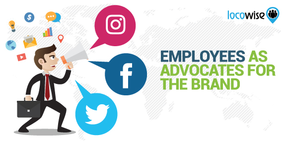 Employees as advocates of the brand