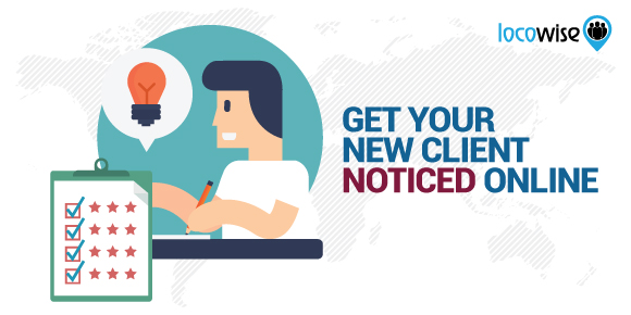 get your client noticed online