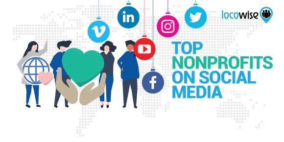 Top Nonprofits on Social Media