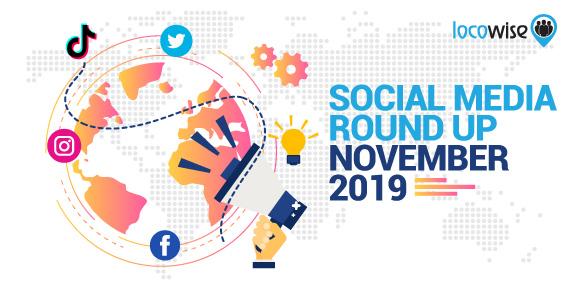 Social Media Round Up: November 2019