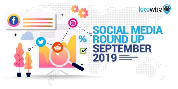 Social Media Round Up: September 2019