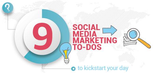 social media to-dos