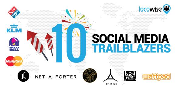 10 Social Media Trailblazers
