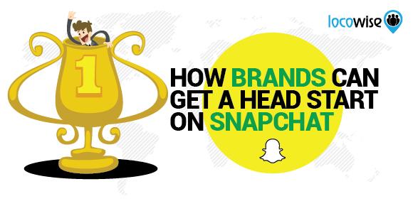 Brands on Snapchat