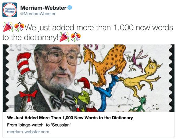 erriam-Webster Success - Relevant