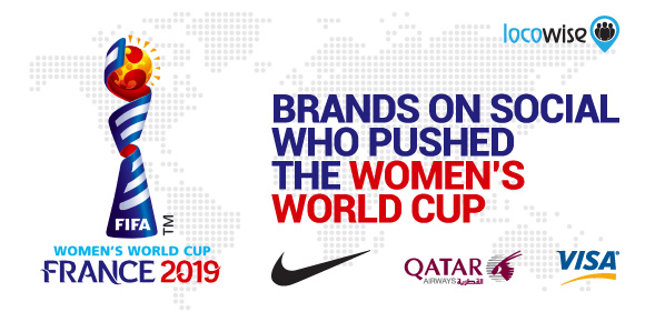 Brands on Social who Pushed the Women's World Cup